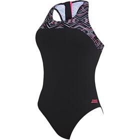 Zoggs Electric Strój kąpielowy Kobiety, black/multi